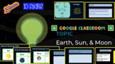 Earth, Moon, & Sun on Google Slides