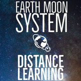 Earth Moon System Bundle:  Distance Learning for Middle School