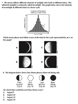 Earth-Moon System Exam