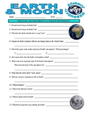 Earth / Moon Webquest (Space and Planets)