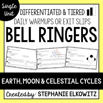 Earth, Moon and Celestial Cycles Bell Ringers
