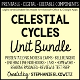 Earth, Moon and Celestial Cycles Unit Bundle