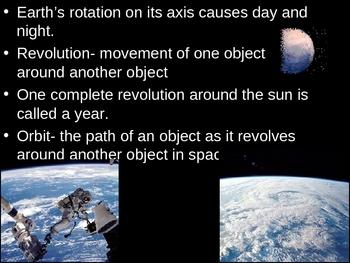 Earth, Moon, and Sun Power Point Presentation