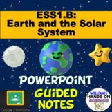 Earth, Moon and Sun PowerPoint and Guided Notes