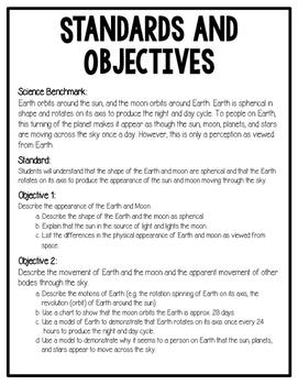 Earth, Moon, and Sun STEM Unit