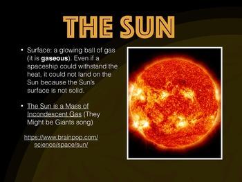 Earth, Moon, and Sun powerpoint