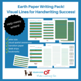 Earth Paper: Visual Writing Lines Package for Handwriting