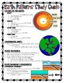 Earth Science Fill in the Blank Notes- VA SOL 5.7