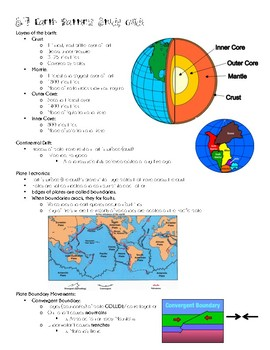 Earth Patterns Study Guide SOL 5.7
