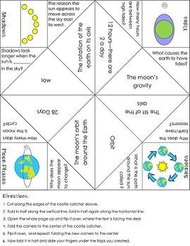 FREEBIE!! Earth Patterns (Tides, Seasons, Shadows, Moon Ph
