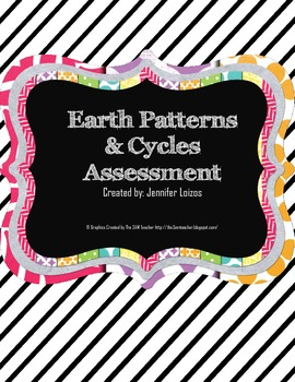 Earth Patterns and Cycles Assessment