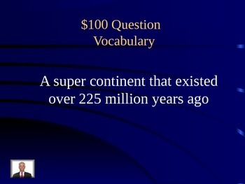 Earth Processes Jeopardy