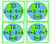Earth Puzzles Addition Math Center Freebie