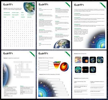 Earth - Puzzles & Glossary
