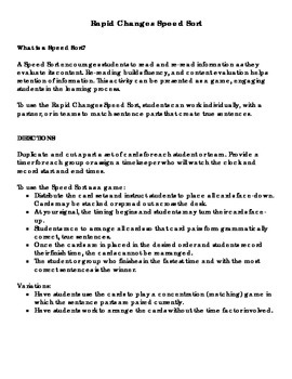 Earth: Rapid Changes Activity Pack for Grade 3