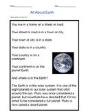 Earth Reading Passage