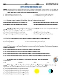Earth Rotation and Revolution - Quiz (Multiple Choice and