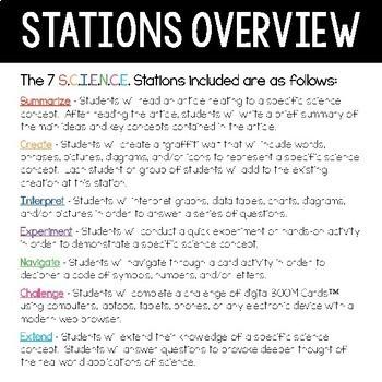 Earth S.C.I.E.N.C.E. Stations Bundle