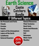 Earth Science Bundle: Weather, Erosion, Clouds, Soil, Rock Cycle Activities etc