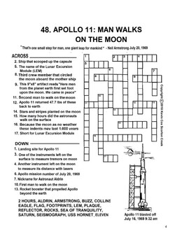 of tranquility crossword