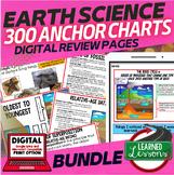 Earth Science Anchor Charts BUNDLE (Earth Science Bundle),