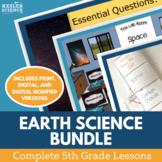 Earth Science 5E Lesson Plans Bundle - Complete Lesson Plans