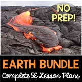 Earth Science 5E Lesson Plans Bundle - Distance Learning Options