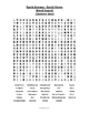 Earth Science - Earth Views Vocabulary Word Search