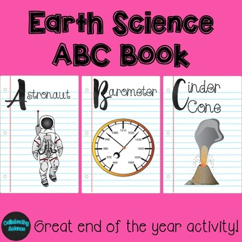 Earth Science ABC Book project