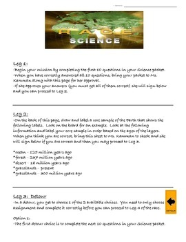 Earth Science Amazing Race Review