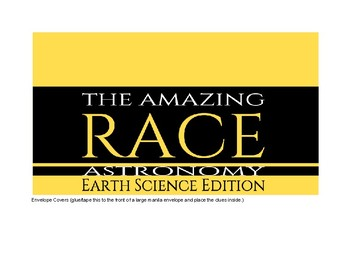 Earth Science: Astronomy, Amazing Race (Standard 1)