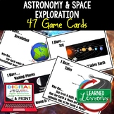Solar System & Planets Game Cards, Earth Science Test Prep, NGSS