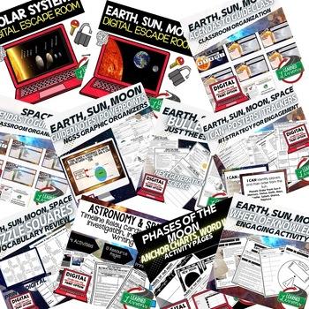 Earth Science Astronomy & Space Exploration BUNDLE (Earth Science BUNDLE)