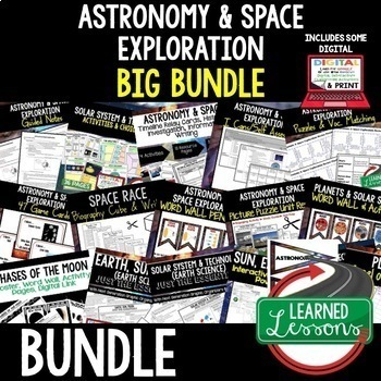Earth Science Astronomy & Space Exploration BUNDLE (Earth