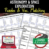 Earth Science Astronomy & Space Exploration Review Puzzles