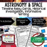 Solar System & Planets, Space Exploration Timeline & Writing with Google Link