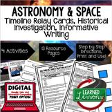 Solar System & Planets, Space Exploration Timeline & Writi