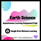 Earth Science Asynchronous Distance Learning Assignment Pack