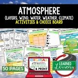 Atmosphere Climate Weather Activities Choice Board