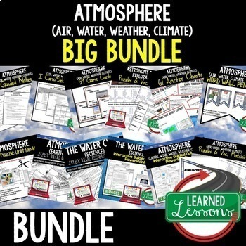 Earth Science Atmosphere Air Water Weather Climate (Earth