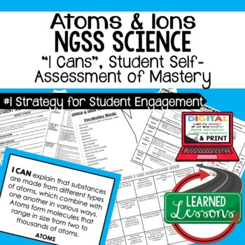 Earth Science Atoms & Ions Student Self-Assessment of Mastery I Cans