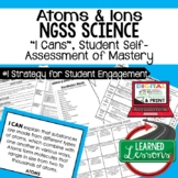 Earth Science Atoms & Ions I Cans Student Self-Assessment of Mastery