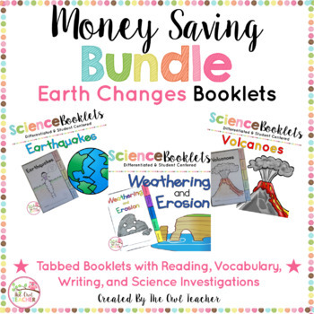 Slow and Fast Changes of the Earth Booklets (BUNDLE)