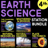 Earth Science BUNDLE - Fourth Grade Science Stations