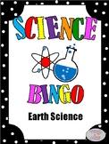 Earth Science Bingo