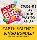 Earth Science Bingo Bundle
