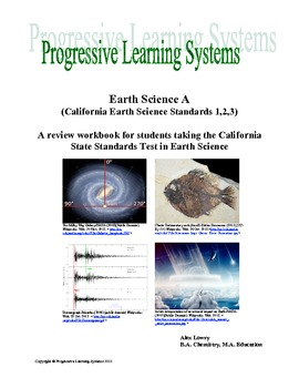 Earth Science Book One A study guide for the California State Standard Test