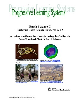 Earth Science Book Three a review book for the California State Standards