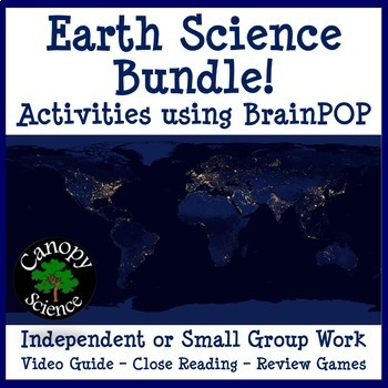 Earth Science Brain Pop Bundle