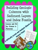 Earth Science: Building Geologic Columns with Sediment Layers and Index Fossils